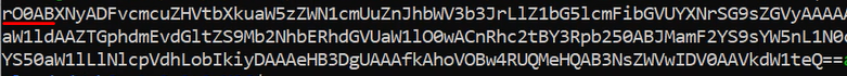 Insecure deserialization: payload ready to be used